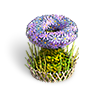Small flower basket