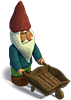 Gnome with a cart